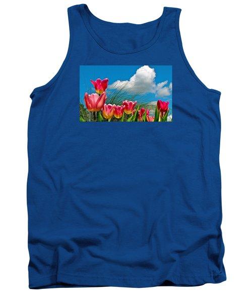 Flower 8 Tank Top
