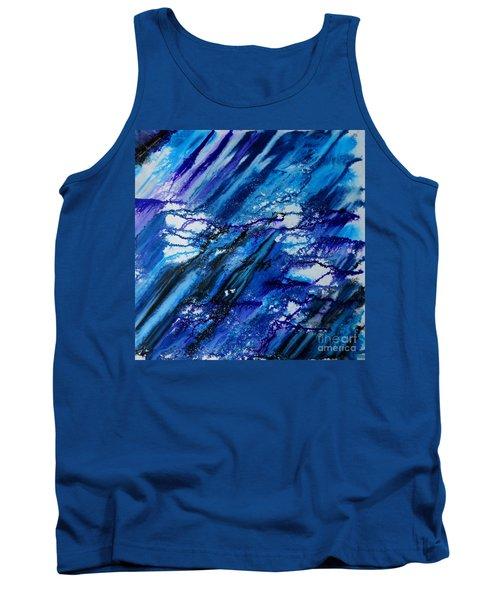 Blue Wind Tank Top