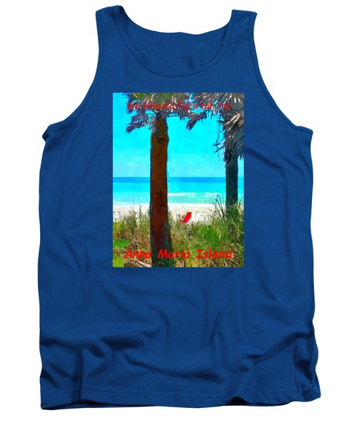 We Saved A Place For You Tank Top