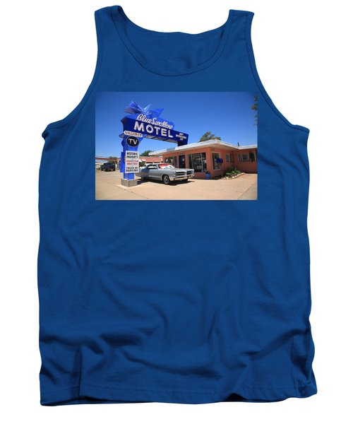 Route 66 - Blue Swallow Motel Tank Top