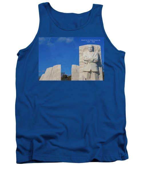 Tank Top featuring the photograph Martin Luther King Jr Memorial by Theodore Jones