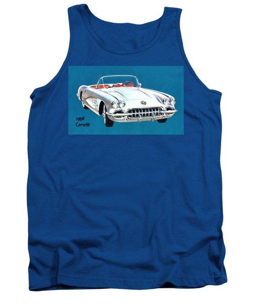 1958 Corvette Tank Top