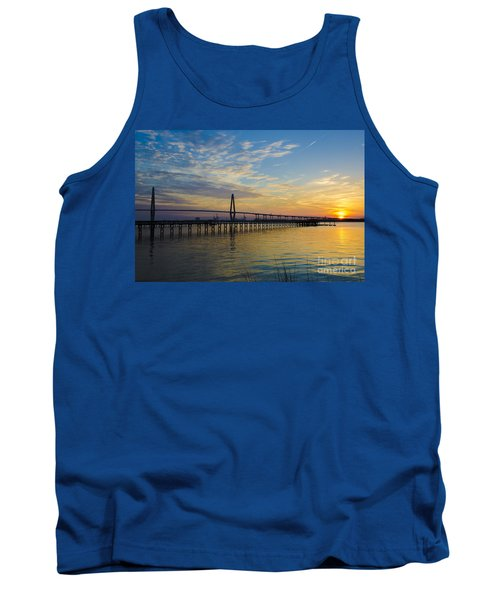 Tank Top featuring the photograph Magical Blue Skies by Dale Powell