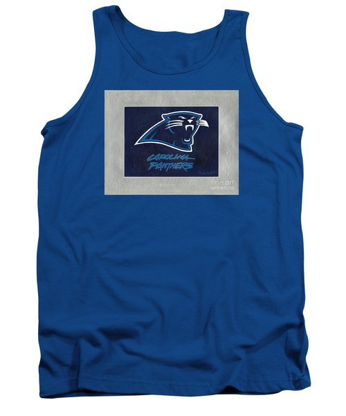 Panthers  Tank Top by Herb Strobino