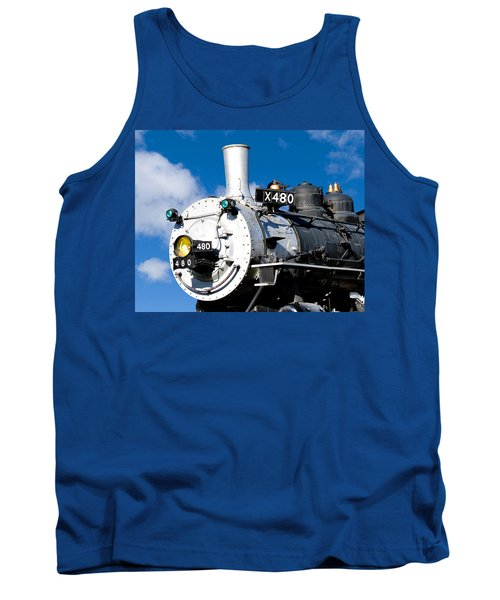 Smiling Locomotive Tank Top