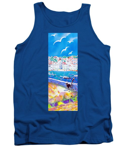Sunset In Costa Brava Tank Top