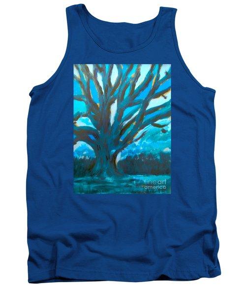 The Blue Tree Tank Top