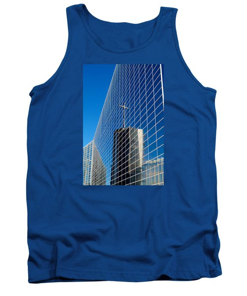 Tank Top featuring the photograph The Crystal Cathedral by Duncan Selby