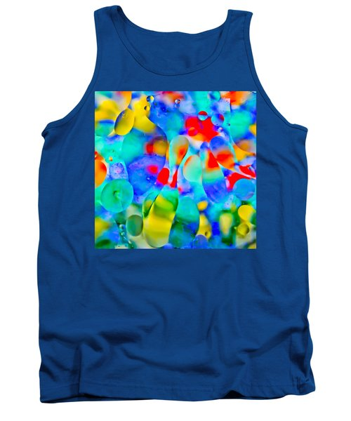 Touch/respond Tank Top by Wayne King