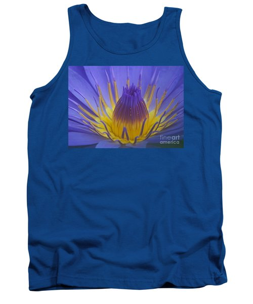 Tropic Water Lily 16 Tank Top