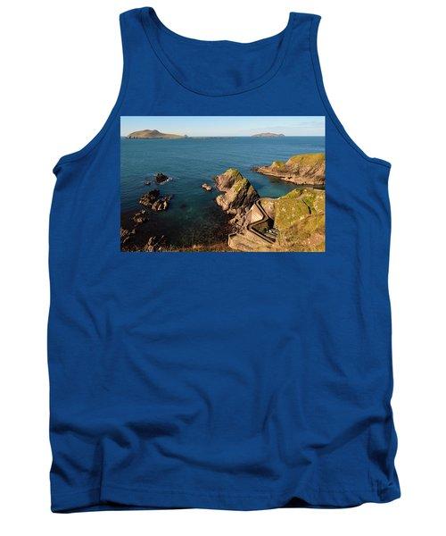 Blasket Islands Tank Top by Barbara Walsh