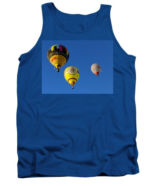Tank Top featuring the photograph 3 Hot Air Balloon by John Swartz
