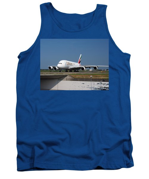 Emirates Airbus A380 Tank Top