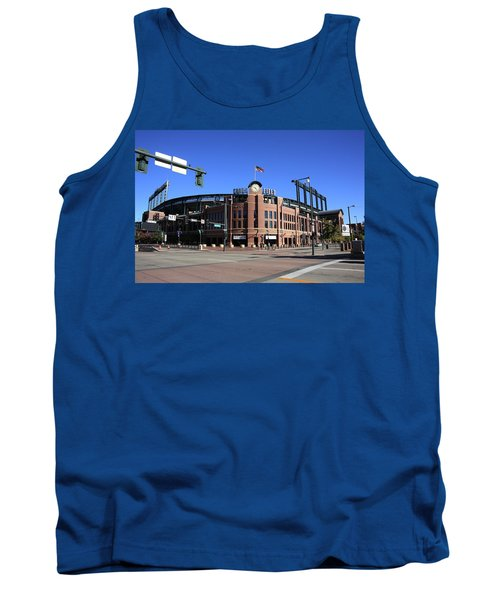 Coors Field - Colorado Rockies Tank Top