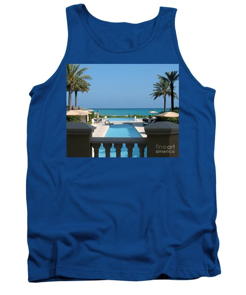 A Beautiful View Tank Top by Patti Whitten