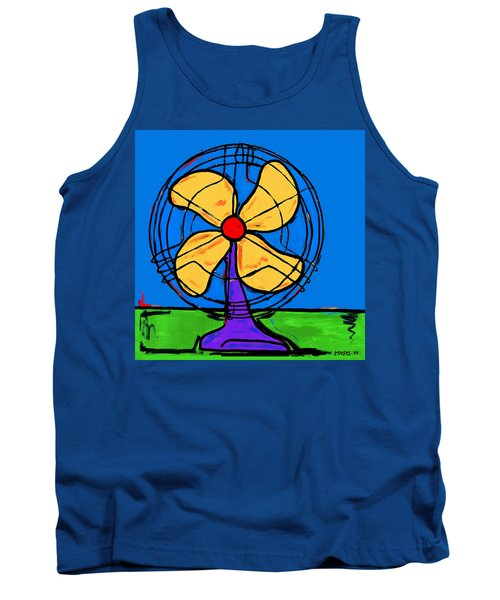 A Fan Of Color Tank Top