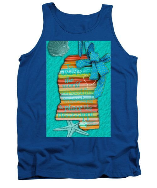 A Place Like Mississippi Tank Top