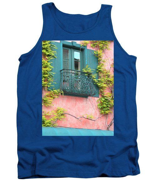 Tank Top featuring the photograph Room With A View by Brooks Garten Hauschild