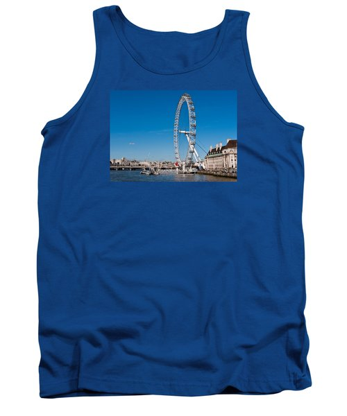 A View Of The London Eye Tank Top