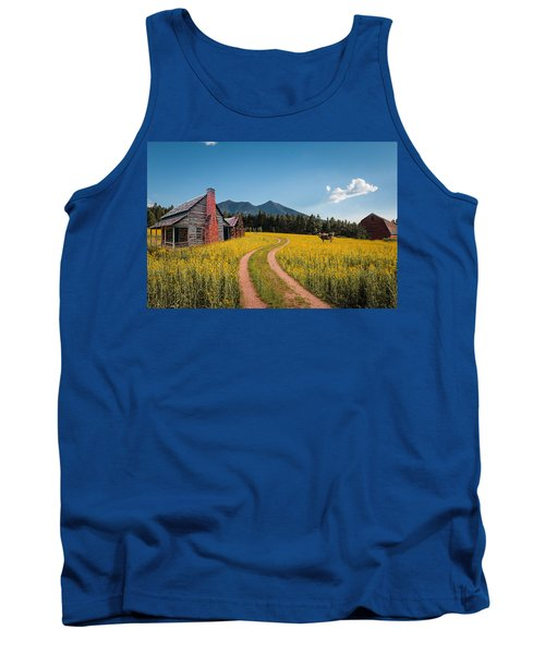 Abandoned Country Life Tank Top by Fred Larson