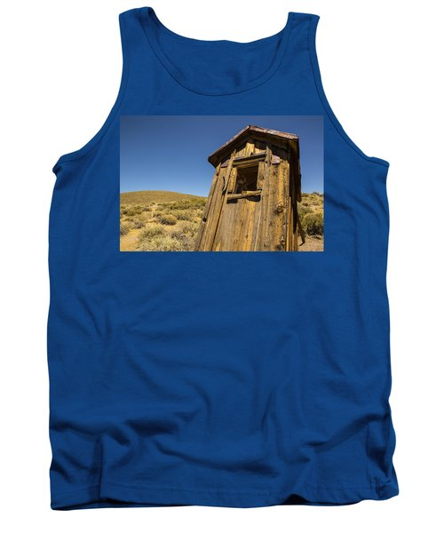 Abandoned Outhouse Tank Top