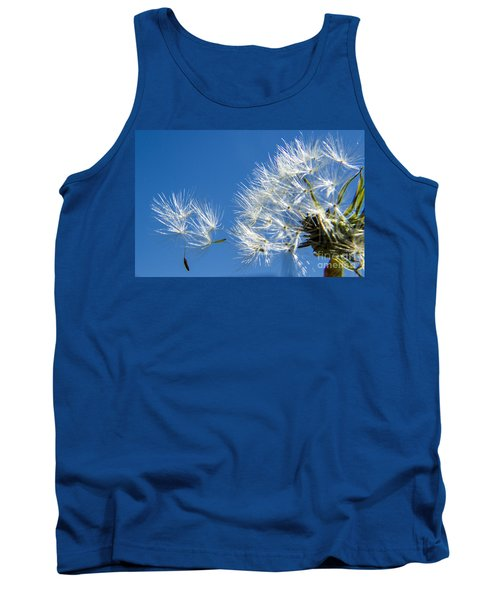 About To Leave - Dandelion Seeds Tank Top
