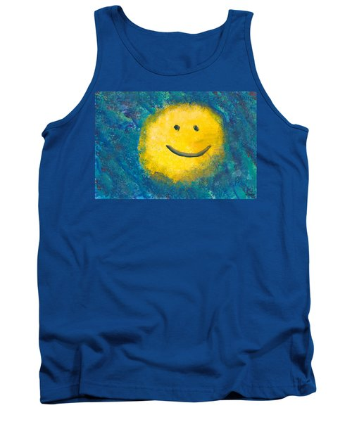 Abstract - Acrylic - Happy Abstraction Tank Top