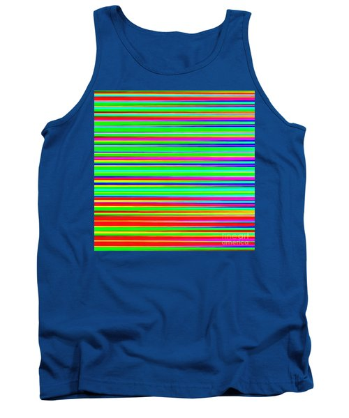 Abstract Lines 3 Tank Top