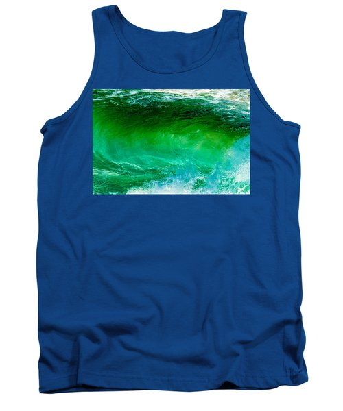 Abstract Wave 3 Tank Top