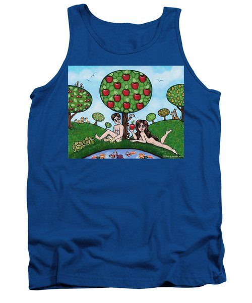 Adam And Eve The Naked Truth Tank Top