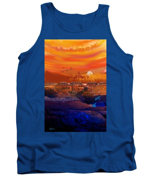 After The Storm Tank Top by J Griff Griffin