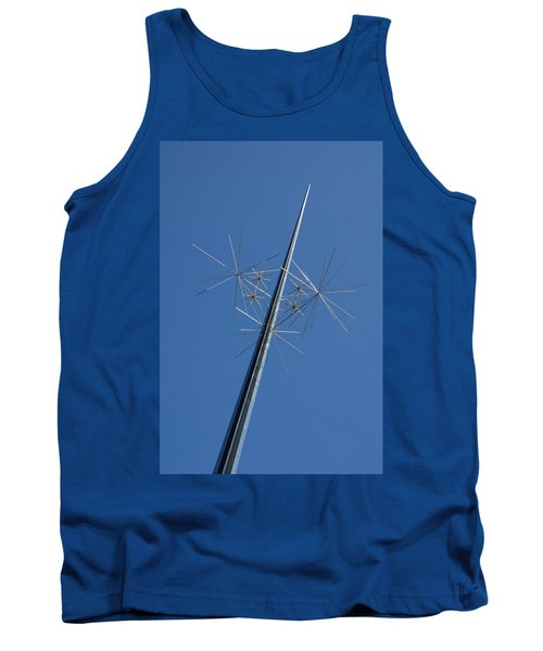 Air And Space Museum Art Spire Tank Top
