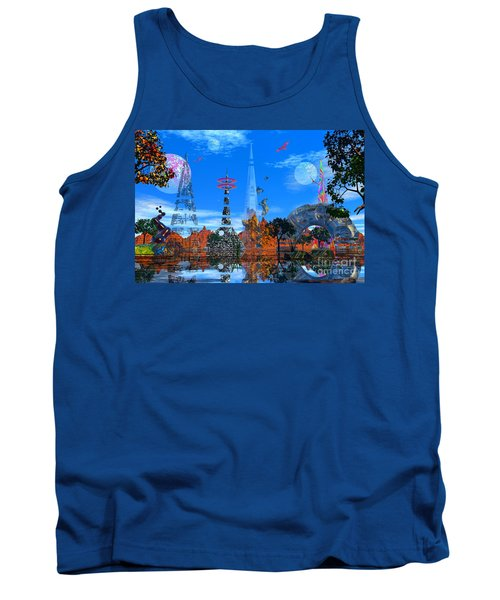 Tank Top featuring the photograph Akrubaar by Mark Blauhoefer