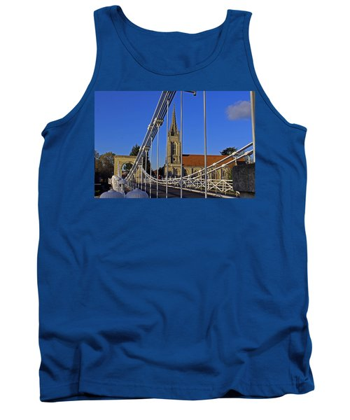 All Saints Church Tank Top by Tony Murtagh