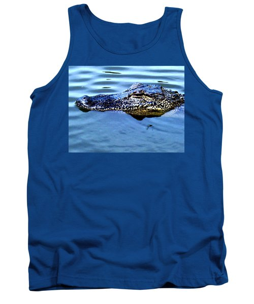 Alligator With Spider Tank Top