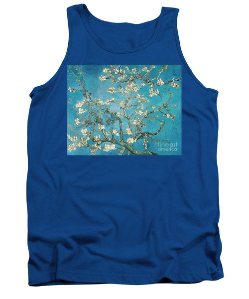 Almond Branches In Bloom Tank Top