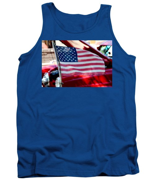 Tank Top featuring the photograph American Dream by Toni Hopper