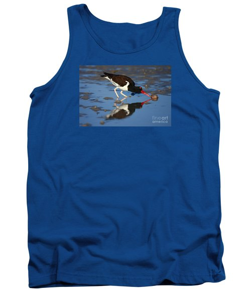 Tank Top featuring the photograph American Oystercatcher Mirror by John F Tsumas