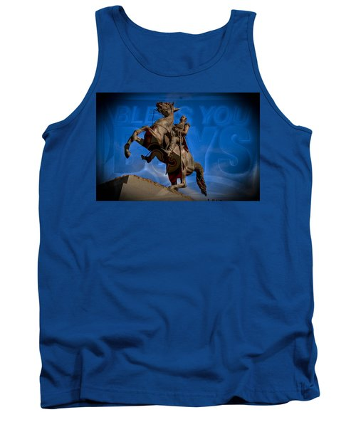 Andrew Jackson And New Orleans Saints Tank Top