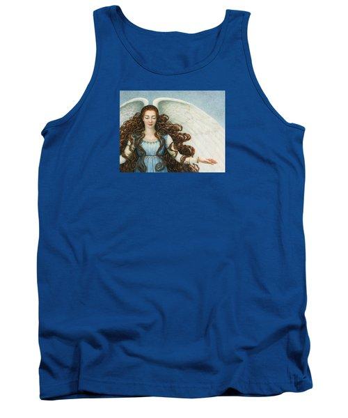 Angel In A Blue Dress Tank Top