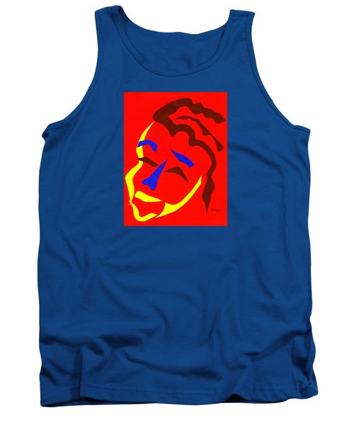 Tank Top featuring the digital art Annalyn by Delin Colon