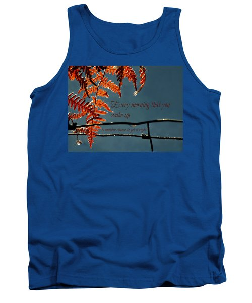 Another Chance Tank Top by Micki Findlay
