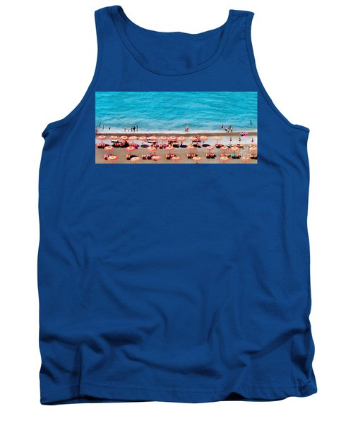 Another Day In Paradise-positano-digitized Tank Top