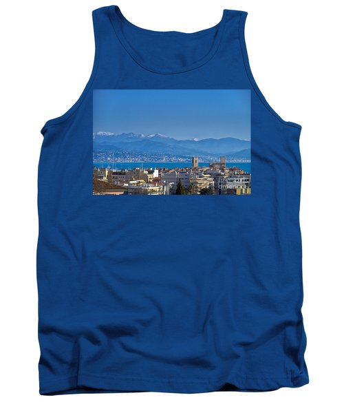 Tank Top featuring the photograph Antibes by Juergen Klust