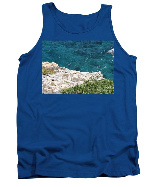 Tank Top featuring the photograph Antigua - Flight by HEVi FineArt