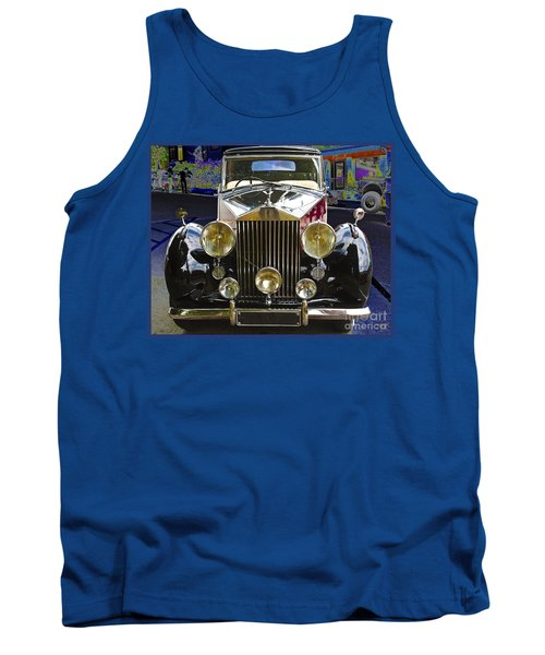 Antique Rolls Royce Tank Top