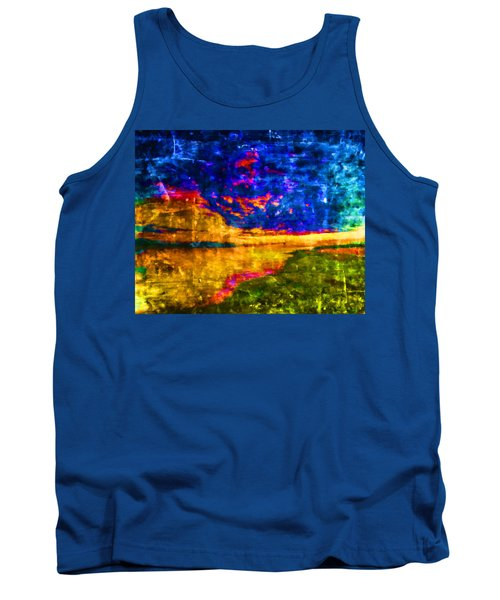 Tank Top featuring the painting As The World Ends by Joe Misrasi