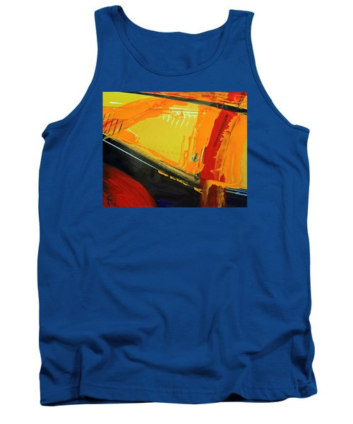 Abstract Composition No 2 Tank Top by Walter Fahmy
