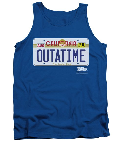 Back To The Future - Outatime Plate Tank Top