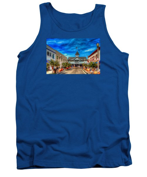 Tank Top featuring the photograph Balboa Pavilion by Jim Carrell